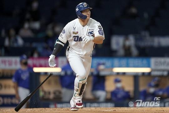 31홈런으로 리그 공동 1위인 NC 나성범