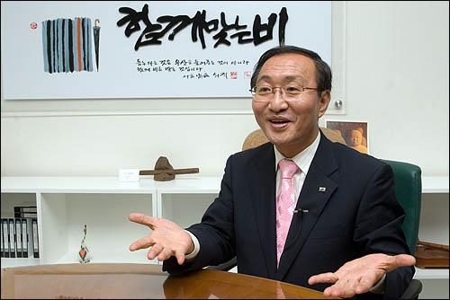 노회찬 민주노동당 대선예비후보 인터뷰.